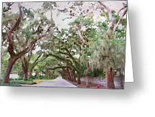 Magnolia Avenue Greeting Card