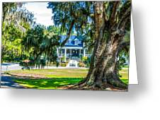 Magnolia Mansion Greeting Card