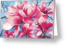 Magnolia Medley Greeting Card
