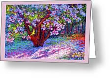 Magnolia Melody Greeting Card