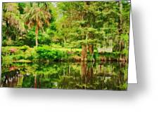 Magnolia Plantation Gardens Greeting Card