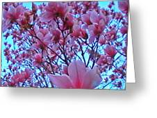 Magnolia Sky 2 Greeting Card