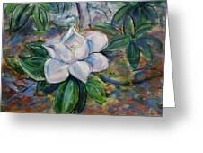 Magnolia's Flower Greeting Card