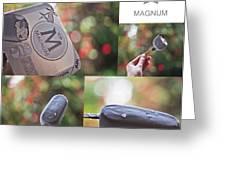 Magnum  Greeting Card