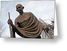 Mahatma Gandhi In Washington Greeting Card