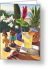 Mai Tai Greeting Card