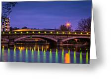 Maidstone Bridge Greeting Card