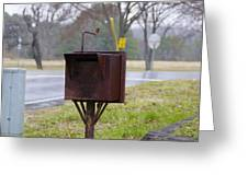 Mail Box Greeting Card