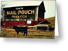 Mail Pouch-4 Greeting Card