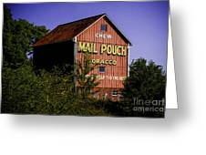 Mail Pouch Barn-0702 Greeting Card