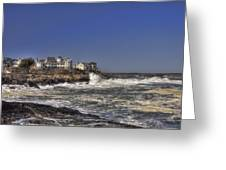 Main Coastline Greeting Card