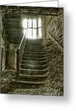 Main Staircase Greeting Card