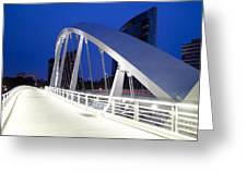 Main Street Bridge Greeting Card