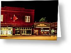 Main Street East Bernard Greeting Card