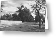 Main Street Fort Apache Greeting Card