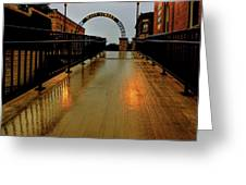 Main Street Greeting Card