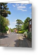 Main Street -ticknall Village Greeting Card