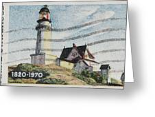 Maine 1820-1970 Greeting Card