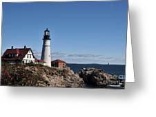Maine 45 Greeting Card