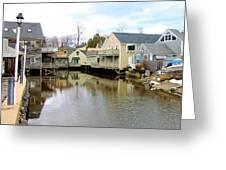 Maine Backwater Greeting Card