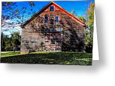 Maine Barn Greeting Card