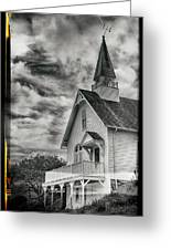 Maine Coast Church Greeting Card