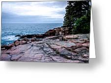 Maine Coastline Greeting Card