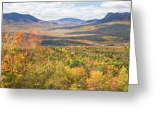 Maine Mountains In Fall Mount Blue State Park  Greeting Card