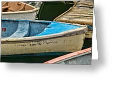 Maine Rowboats Greeting Card