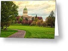 Maine State Capitol Building Greeting Card