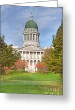 Maine State House I Greeting Card