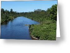 Maine Waters Greeting Card