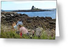 Mainie Seascapes Greeting Card
