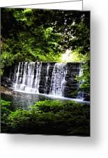 Mainline Waterfall Greeting Card
