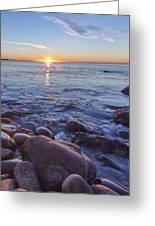 Mainly Water Greeting Card by Jon Glaser