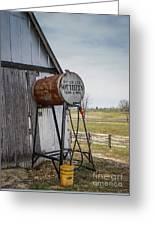 Barn - Maintenance Greeting Card