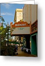 Mainzer Theater Greeting Card