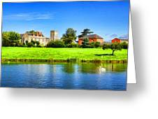 Maisemore Court And Church 2 Greeting Card