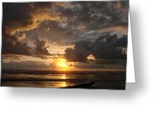 Majestic Sunset Greeting Card
