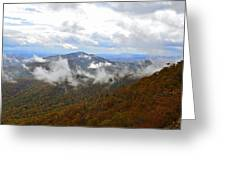 Majestic Autumn Greeting Card by Susan Leggett