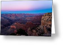 Majestic Canyon Greeting Card