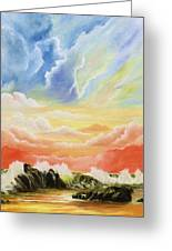 Majestic Clouds Greeting Card