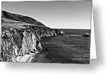 Majestic Coast Greeting Card by Scott Pellegrin
