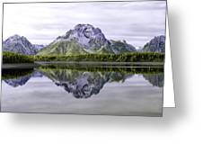 Majestic Grand Tetons Greeting Card