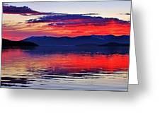 Majestic Idaho Greeting Card