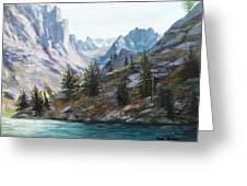 Majestic Montana Greeting Card