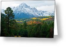 Majestic Mt. Sneffels Greeting Card by John Hoffman