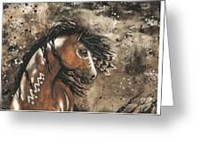 Majestic Mustang Series 61 Greeting Card