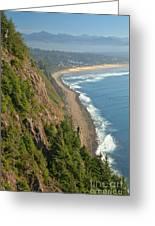 Majestic Oregon View Greeting Card