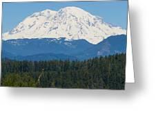 Majestic Rainier Greeting Card